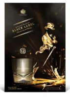 Johnnie Walker Black Label 12y ICE 0,7l 40% + 1x sklo GB