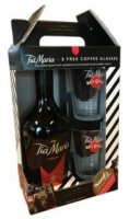 Tia Maria coffee 0,7l 20% + 2x sklo GB