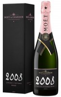 Moët & Chandon Rose Grand Vintage 2008 0,75l 12%
