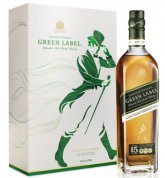 Johnnie Walker Green Label 15y 0,7l 43% + 2x sklo GB