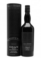 Aukce Game of Thrones The Night's Watch – Oban Bay Reserve 0,7l 43%