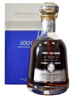 Aukce Diplomatico Single Vintage 12y 2001 0,7l 43% GB