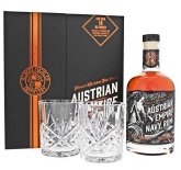 Austrian Empire Navy Rum 18y 0,7l 40% + 2x sklo GB