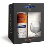 Martell VS 0,7l 40% + 1x sklo GB