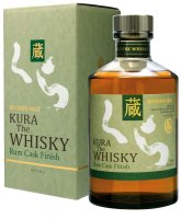 Kura Rum Cask Finish Blended Malt Whisky 0,7l 40%