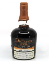 Aukce Dictador Best of 1974 Apasionado Single Cask 0,7l 44%