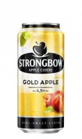 Strongbow Gold Apple Cider 0,44l 4,5% Plech