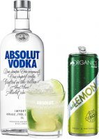 Absolut & Lime set