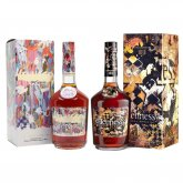 Aukce Hennessy Very Special Cognac by JonOne & Very Special Cognac by Vhils 2×0,7l 40% L.E.