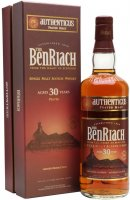 BenRiach Peated Authenticus 30y 0,7l 46% GB