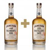 Jameson Makers Series The Blender's Dog + Jameson The Distiller's Safe 2×0,7l 43%
