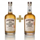 Jameson Makers Series The Distiller's Safe + The Cooper's Croze 2×0,7l 43%