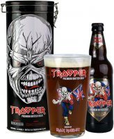 Iron Maiden's TROOPER Beer 12° 0,5l 4,7% + 1x sklo GB