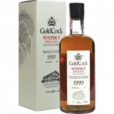 Aukce Gold Cock Single Malt 1999 0,7l 56,8% L.E.