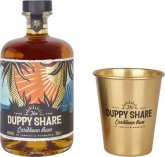 Duppy Share 0,7l 40% + 1x sklo GB