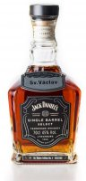 Jack Daniel's Single Barrel Select Sv. Václav Edition No.4 Private Collection 0,7l 45%