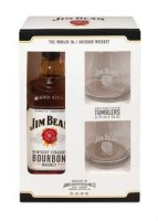 Jim Beam White 0,7l 40% + 2x sklo GB