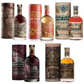 Aukce Don Papa Set 5×0,7l
