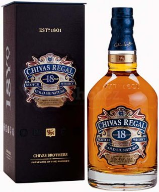 Chivas Regal 18y 1l 40% GB