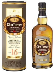 Glen Turner 16y single malt 0,7l 40%
