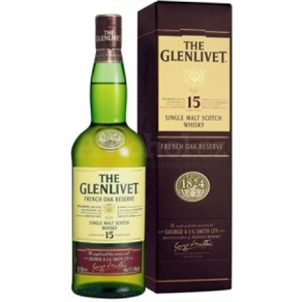 The Glenlivet 15y 0,7l 40% 0,7l