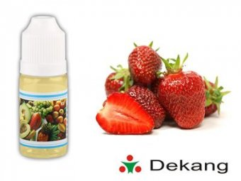 Liquid Dekang 10ml, 0mg, Strawberry - Jahoda