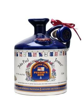Pusser´s British Navy Rum John Paul Jones Decanter 1l 47%