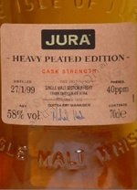 Isle of Jura cask strenght