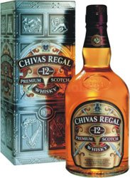 Chivas Regal 12y - kartonek