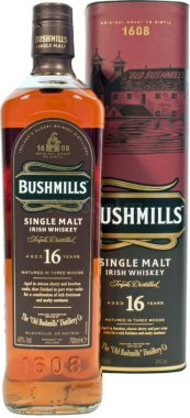 Bushmills 16y Three Woods 0,7l 40% 0,7l