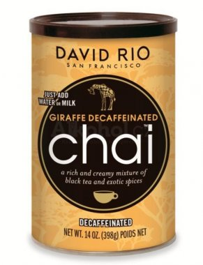 David Rio Giraffe Decaffeinated Chai 398gr