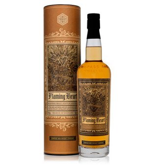 Compass Box Flaming Heart 5th Edition 0,7l 48.9%