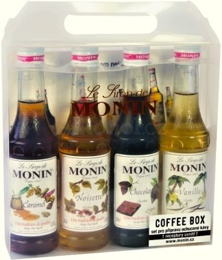 Monin Coffee Box 4x 0,25l