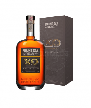 Mount Gay extra old XO Plain 0,7l 43%