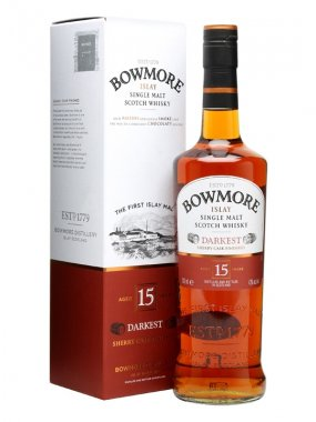 Bowmore Darkest 15y 0,7l 43%