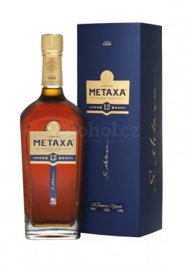 Metaxa 12* Festive Box 0,7l 40%