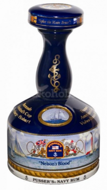 Pusser's British Navy Nelson's Blood Decanter 1l 42%