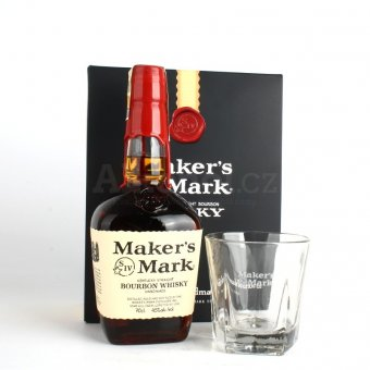 Maker's Mark 0,7l 45% + 2x sklo GB