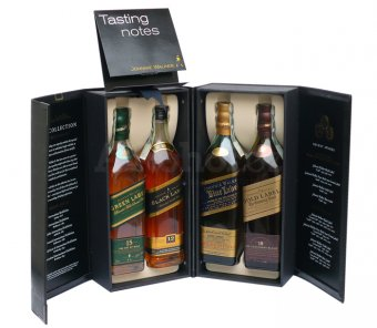 Johnnie Walker Collection 4x 0,2l 40% GB
