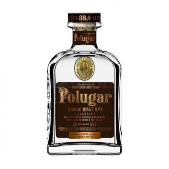 Polugar Single Malt Rye Vodka 0,7l 38.5%