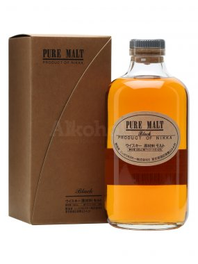 Nikka Pure Malt Black 0,5l 43%