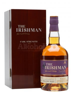 The Irishman Cask Strength 2019 0,7l 54%