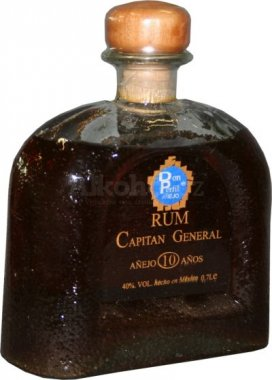 Capitan General Anejo Black 10y 0,7l 40%
