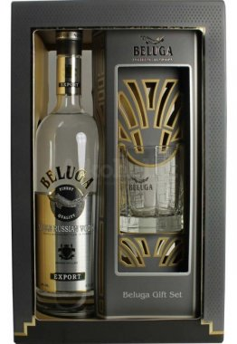 Vodka Beluga 0,7l 40% GB + sklo 0,7l