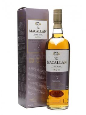 Macallan Fine Oak 17y 0,7l 43%