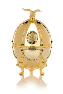 Vodka Imperial Collection Faberge Ei Gold 0,7l 40% GB