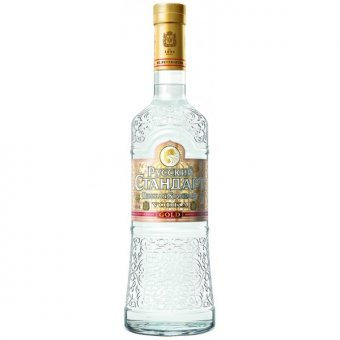 Russian Standard Gold vodka 1l 40%