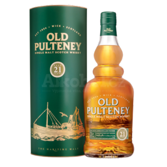 Old Pulteney 21y 0,7l 46% GB