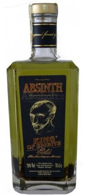 Absinth King of Spirits gold 0,7l 70%