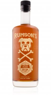 Rumson's Spiced Rum Spiced  0,75l 40%